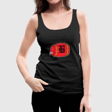 Barrel Beer Oktoberfest Munich Jug Gift - Women's Premium Tank Top