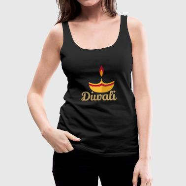 Diwali Light - Gift Idea - Women's Premium Tank Top