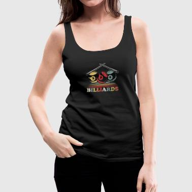 8 Ball Billiard - Women's Premium Tank Top