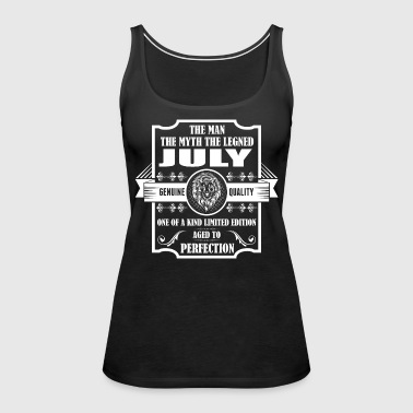 Leo Legend July - Women's Premium Tank Top