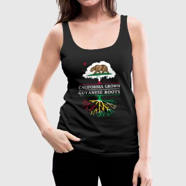Guyana California Grown with Guyanese Roots - Women's Premium Tank Top