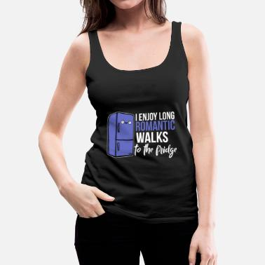 Romantic Romantic Walks - Women's Premium Tank Top
