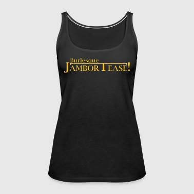 Dr. Shocker's Burlesque JamborTease! - Women's Premium Tank Top