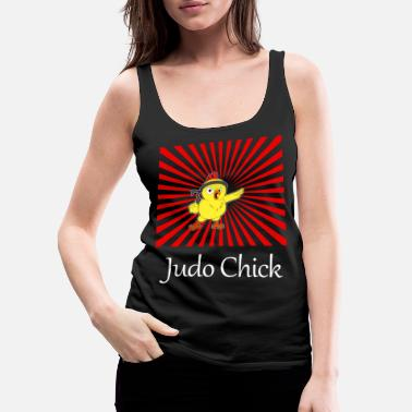 Chick Magnet Judo Chick T-Shirt gift for women and girls - Women's Premium Tank Top