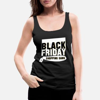 Steal Black Friday Shopping Gang - Black Friday - Women's Premium Tank Top