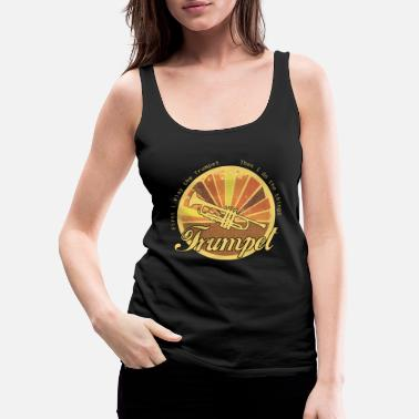 Brass Knuckles Trumpet - Women's Premium Tank Top
