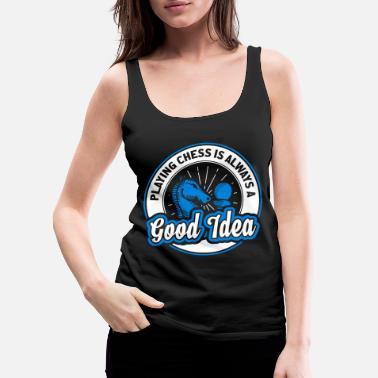 Chess Chess - Women's Premium Tank Top