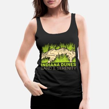 Michigan Sand and Serenity - Women's Premium Tank Top