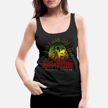 07c52bc3ca6d0f Reggae Rastafari Lion Of Judah - Rasta Reggae Jamaica - Women  39 s  Premium. Women s Premium Tank Top