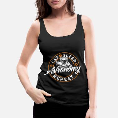 Astro Astronaut universe planet science gift - Women's Premium Tank Top