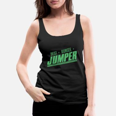 Bungee Jumper Bungees Jumper Bungee Jumping Jump Sports - Women's Premium Tank Top