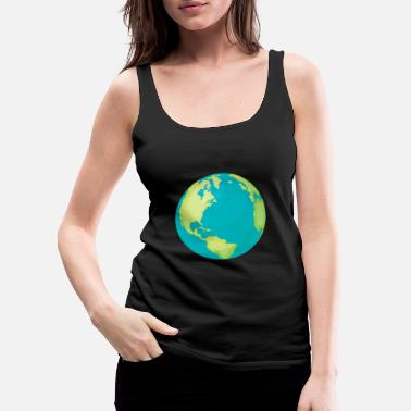 Global climate protection - Women's Premium Tank Top