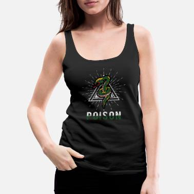Crawl Snake Snake - Women's Premium Tank Top