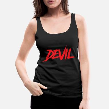 Devil Male DEVIL - Women's Premium Tank Top