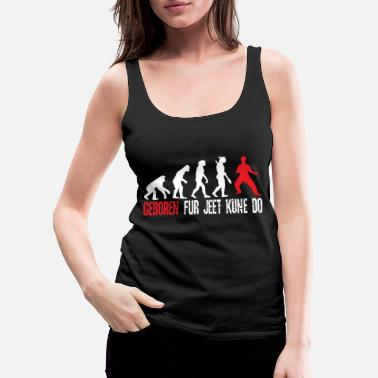 Darwin Born for Jeet Kune Do - Women's Premium Tank Top