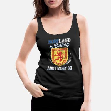 North Sea Scotland Is Calling And I Must Go Gift Idea - Women's Premium Tank Top