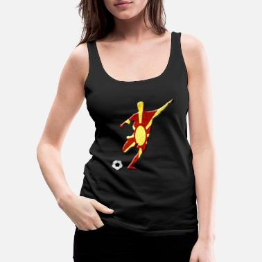 Macedonia Macedonia - Women's Premium Tank Top