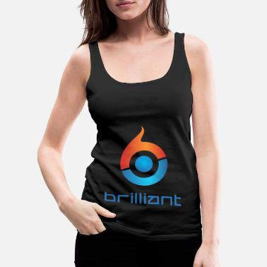 Brilliant Brilliant - Women's Premium Tank Top