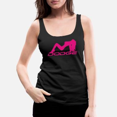 Dodge Sexy Dodge Girl - Women's Premium Tank Top