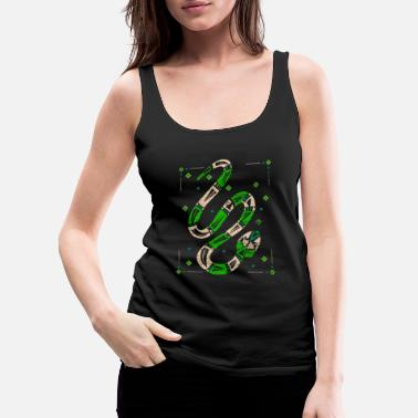 Mythology Snake Mythology - Women's Premium Tank Top