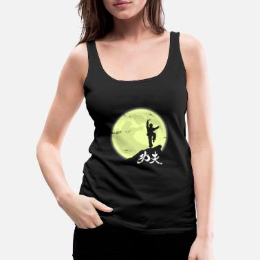 Asian Kung Fu Moon Gift Christmas Fight Kids Sport - Women's Premium Tank Top