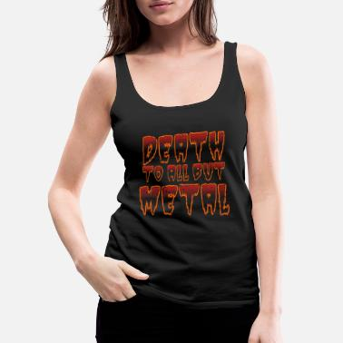 Metal Music Metal Music - Women's Premium Tank Top