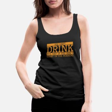 Skittles Beer Drinker Shirt Funny Quote Cool Gift Party Tee - Women's Premium Tank Top