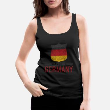 Geographic Germany Baby Made in Born Gift - Women's Premium Tank Top