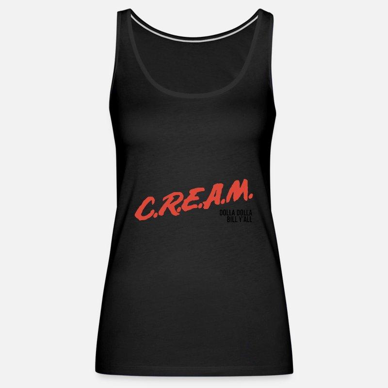 c44817d5 C R E A M DARE Tang Clan Underground Hip Hop Women's Premium Tank Top |  Spreadshirt