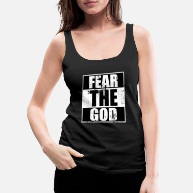 Cool Christian Fear the God Cool Christian - Women's Premium Tank Top