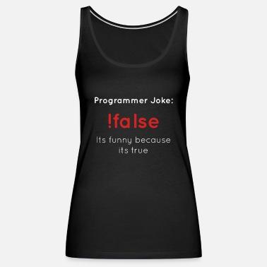 Mad Over Shirts White Alive Eat Sleep Code Programmer Saying Unisex Premium Racerback Tank top