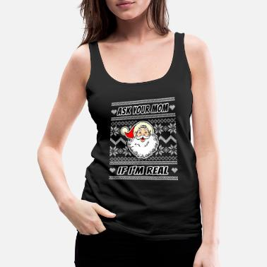 Bar Adult Humor Naughty Dirty Santa Christmas Gift - Women's Premium Tank Top