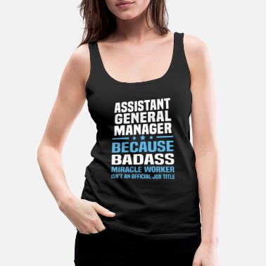 General Assistant General Manager - Women's Premium Tank Top