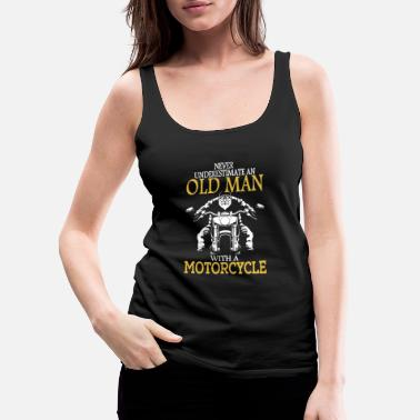 Motocycle Motocycle - Motocycle - never underestimate an o - Women's Premium Tank Top