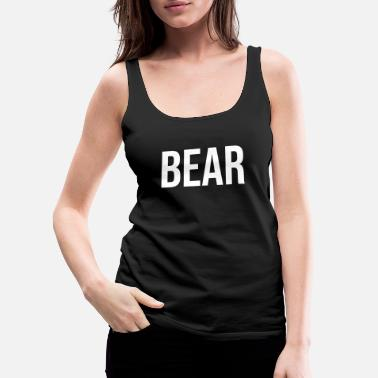 Rich Bear - Women's Premium Tank Top
