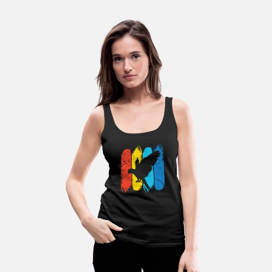 Gift Idea Tank Tops - Parrot - Women's Premium Tank Top black