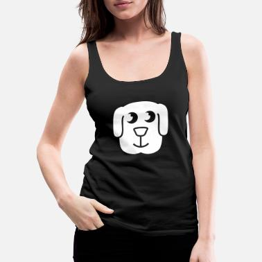 Large Puppy - Women's Premium Tank Top