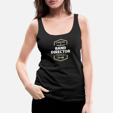 Bandera Band Director - Women's Premium Tank Top