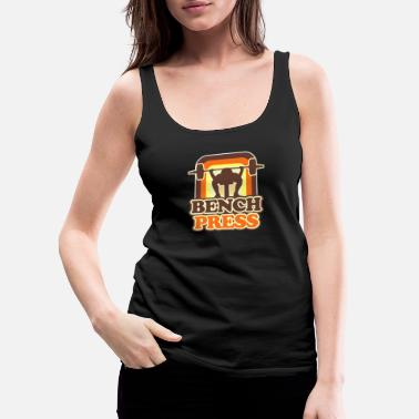 Power Press Bench Press - Women's Premium Tank Top