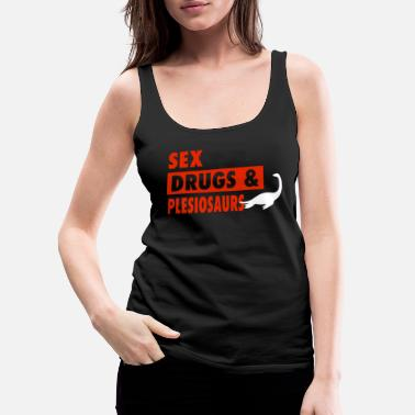 Reptile Sex Drugs And Trexs - Women's Premium Tank Top