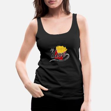 French Fries French Fries - Women's Premium Tank Top
