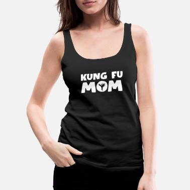 Kicking Kung Fu - Women's Premium Tank Top