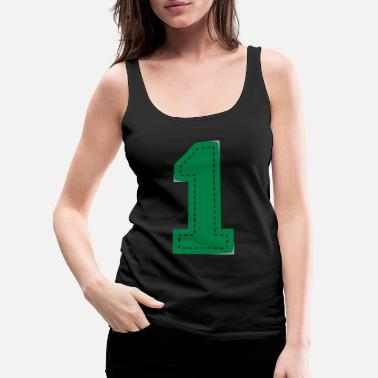 Siblings Number One Patch - Women's Premium Tank Top