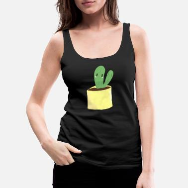 Julia Cactus1 by Julia - Women's Premium Tank Top