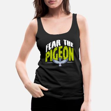 Pigeon pigeons carrier pigeon bird - Women's Premium Tank Top