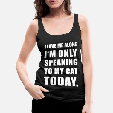 Funny Cats Cat Cats Funny Kitty - Women's Premium Tank Top