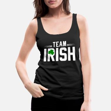 Kreuz Team Irish St. Patrick's Day 2019 - Women's Premium Tank Top