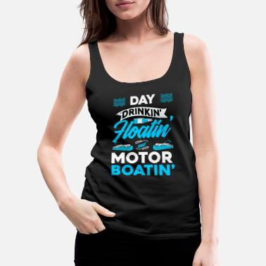 Pontooning Mens Pontoon Motorboating product | Pontoon - Women's Premium Tank Top