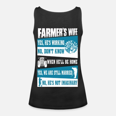 67c738cfa Farmer no farmers no food farmer's wife farmers Women's Premium T ...
