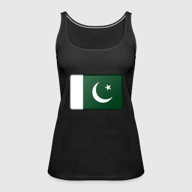 Pakistan Flag - Women's Premium Tank Top